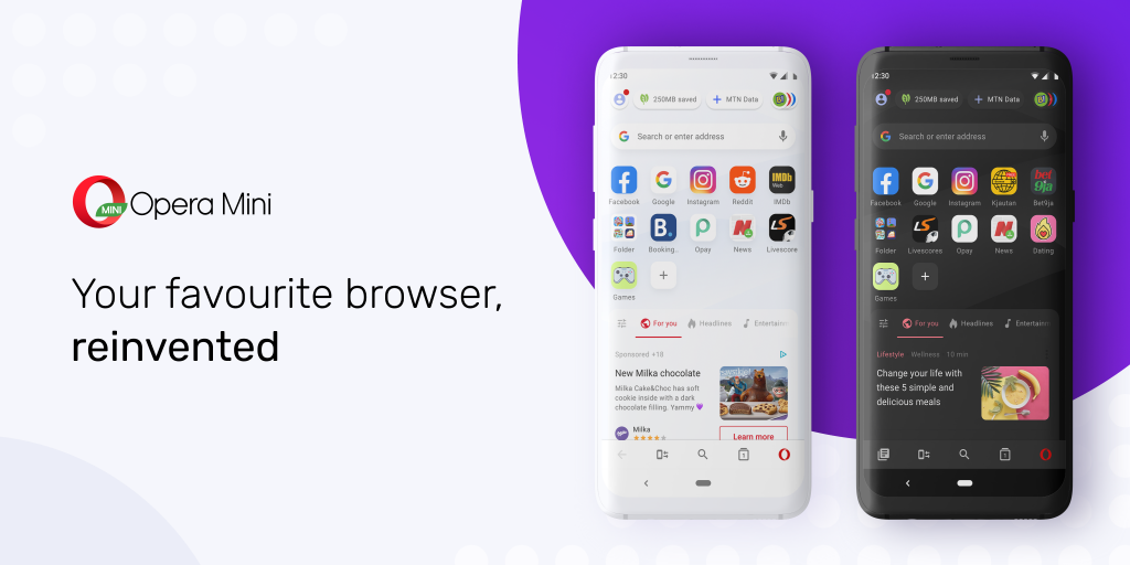 The new version of the browser comes with a fully revamped user interface for more personalized and intuitive browsing,