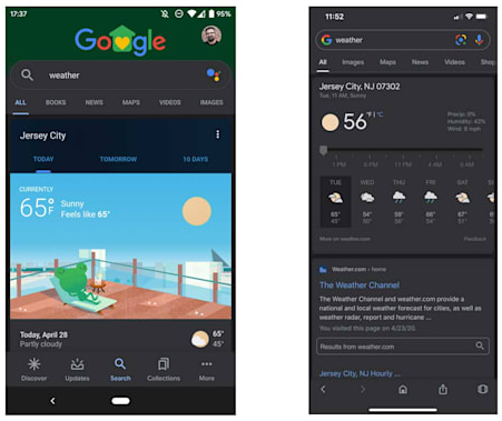 All through 2019, we see different app makers rolled out dark mode to their app including WhatsApp, and this is 2020, Google