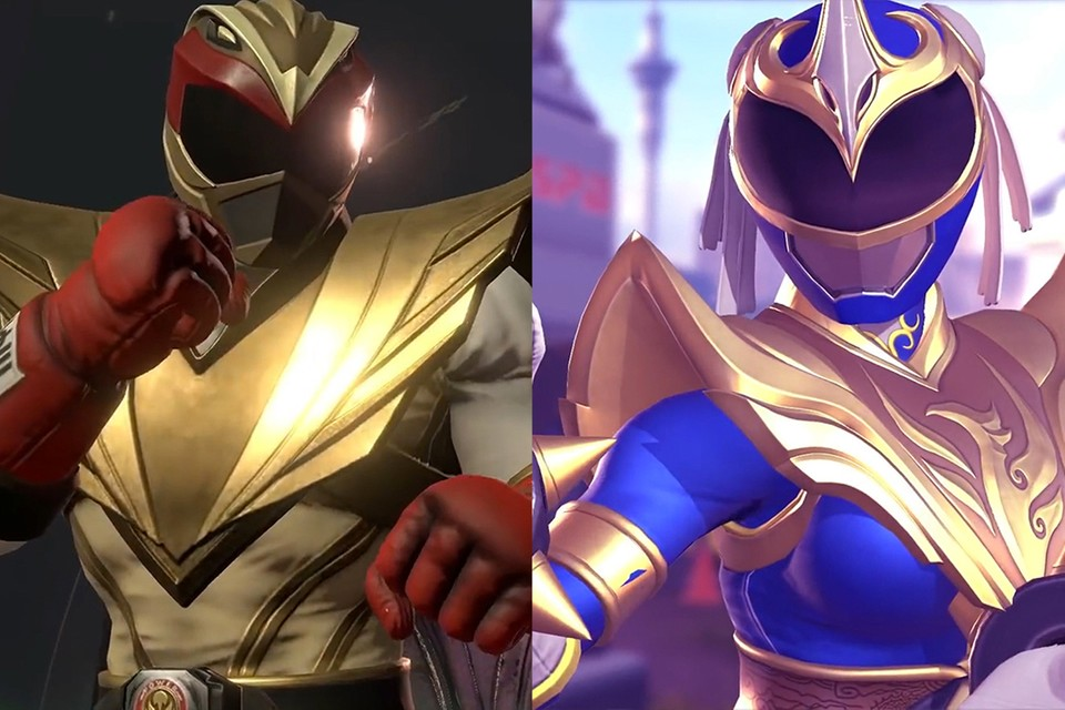 Chun-Li and Ryu are Joining the Power Rangers Once Again in Latest 'Battle for the Grid' Crossover